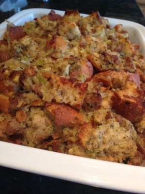 Apple and Sausage Stuffing with Chestnuts - KC Catering ...
