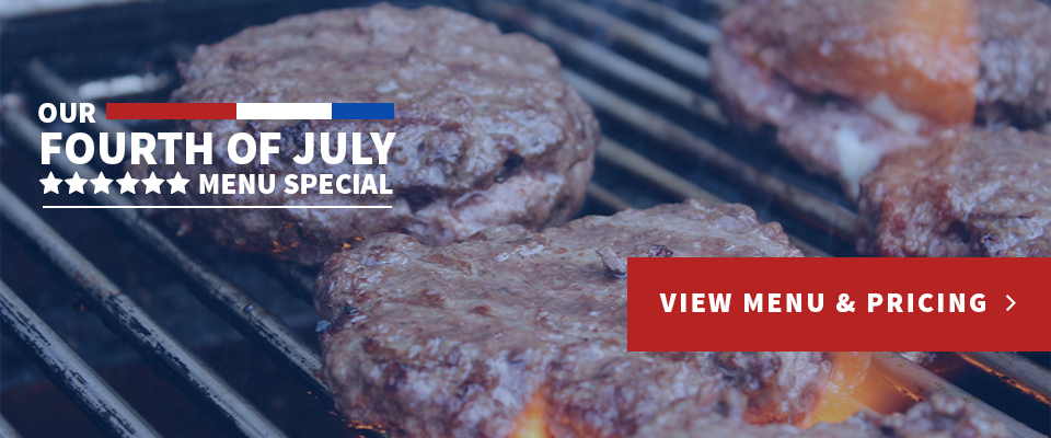 KC Catering: 4th of July Promo